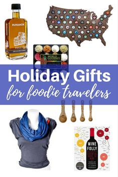 15 great gifts for food lovers, adventurous eaters, and foodie travel addicts.