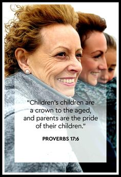 Proverbs 17:6 Book Of Proverbs, Messages, Children, Books, Movie Posters, Young Children, Boys, Libros, Kids