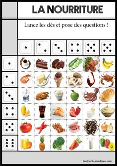 Learn French Videos Activities Learning Videos For Beginners French Teacher, Teaching French, Healthy Eating Tips, Healthy Nutrition, French Worksheets, Core French, French Grammar, French Classroom, French Resources