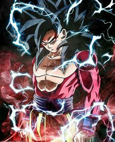 Goku ss4 || Dragon ball z