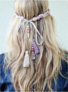 cool head hippie crown