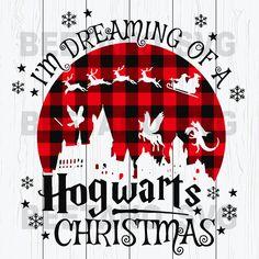 Hogwarts Christmas, Harry Potter Christmas, Christmas Svg, Disneyland Christmas, Christmas Shirts, Xmas, Vinyle Cricut, Cricut Vinyl, Svg Files For Cricut