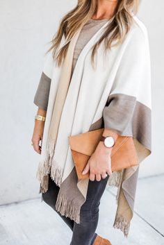 PONCHO UP // KBStyled.com