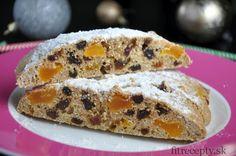 Výborná a na prípravu nenáročná proteínovo-ovsená štóla bez múky a cukru. Pre zdravé a chutné Vianoce! :) Ingrediencie (na 1 štólu): 3/4 hrnčeka ovsených vločiek (pomletých alebo rozmixovaných na múku) 1/4 hrnčeka vanilkového proteínového prášku (najlepšie sladeného stéviou)* – prípadne môžete nahradiť ovsenými vločkami 2 PL kokosovej múky 1 ČL prášku do pečiva 1 vajce […]