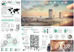 Galeria de Concurso de habitações temporárias para surfistas premia projetos da…