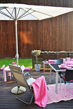 Salon de jardin en bois exotique \