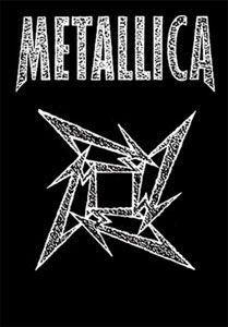 Metallica Ninja Star Fabric Poster 30 x 40