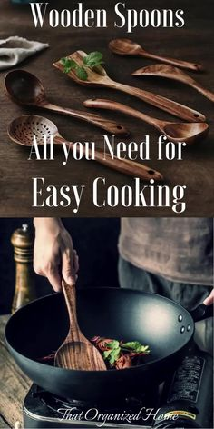 ALL YOU NEED IN ONE SET-An ideal Wooden Kitchen Utensil Set that features all the essential cooking tools including Wok Turner, Flat Spatula, Soup Ladle, Serving Spoons