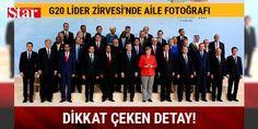 G20 Lider Zirvesi'nde aile fotoğrafı çekildi: 1234435 - G20 Zirvesi'nin Dönem Başkanı ve Almanya Başbakanı Angela Merkel, zirvenin düzenlendiği #Hamburg Fuar Kongre Merkezi'nde konuklarını karşıladı. Karşılamanın ardından G20 liderleri,  Terörle Müc#Adele  temalı toplantıda bir araya geldi. Yaklaşık 2 saat sürecek toplantının ardından aile fotoğrafı çekilecek ve  Küresel Büyüme ve Ticaret  başlıklı birinci çalışma oturumu gerçekleştirilecek.  Sürdürülebilir Kalkınma, İklim ve Enerji  konulu…