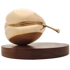 Modernist Pear Sculpture   From a unique collection of antique and modern sculptures at http://www.1stdibs.com/furniture/more-furniture-collectibles/sculptures/