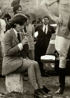 Jackie Kennedy during her visit to India in 1962