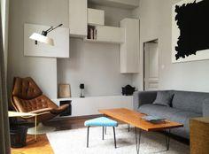 Rénovation d'un appartement - 40m2 - Charlotte Vauvillier - architecte d'intérieur
