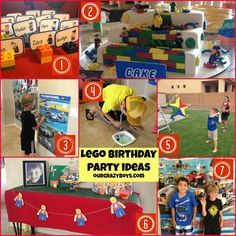 Lego Birthday Party Idea RoundUp - The best of the best ideas!