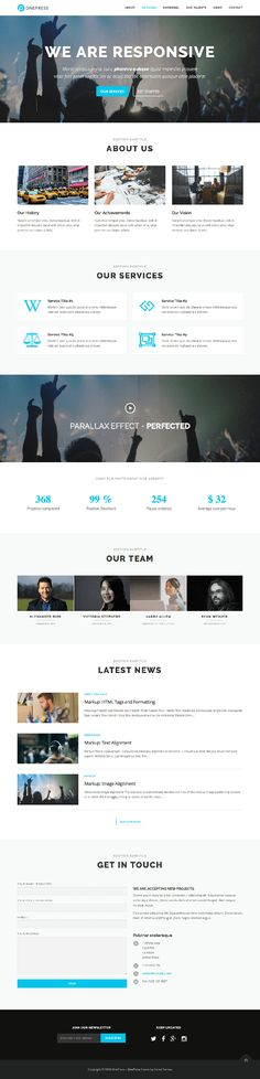54 Best Free WordPress Themes images in 2017 | Wordpress template