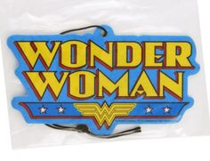 DC Comics Wonder Woman Logo Fresh Scent Air Freshener - Visit to grab an amazing super hero shirt now on sale!