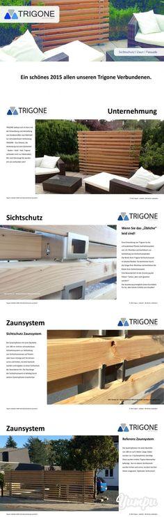 Ein schönes 2015 allen unseren Trigone Verbundenen. - Magazine with 6 pages: