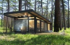 Karoleena Prefab Cabins « Grassroots Modern – A shelter blog focusing on affordable modern furniture and accessories.