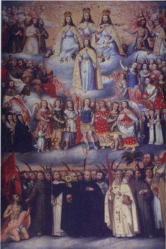 Coronación de la Virgen.