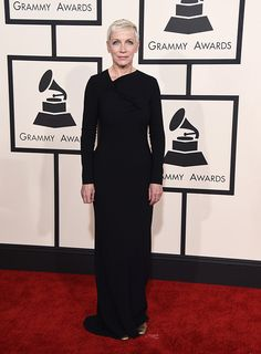 Annie Lennox. Grammy Awards 2015 Red Carpet Arrivals Photos | Radar Online