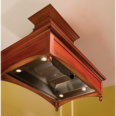 Vent-A-Hood SS 48 Inch Decorative Island Hood Liner with Dual Level Halogen Lighting, SensaSource Intelligent Heat Sensor and 550 CFM Blower in Stainless Steel Range Hood Vent, Range Hoods, Stove Vent, Island Range Hood, Steel Detail, Ventilation System, Spanish Style, Stainless Steel, Kitchen Ideas