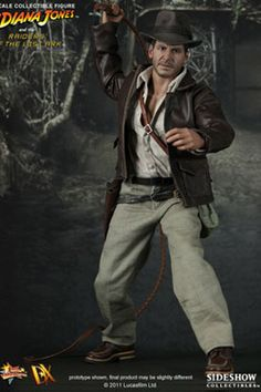 Sideshow Collectibles and Hot Toys are proud to present the MMS DX scale Indiana Jones Collectible Figure from the Indiana Jones - Raiders of the Lost Ark Harrison Ford, Indiana Jones, Film Logo, Sideshow Toys, Sideshow Collectibles, Harry Potter, Comic, Geek Art, Geek Culture