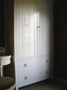 Ikea Hemnes Wardrobe hack. Love!                                                                                                                                                                                 More