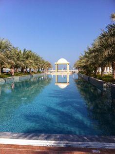 Hilton Ras Al Khaimah Pool Houses, House Pools, Lighthouse Hotel, Hot Tub Patio, Dubai Holidays, Ras Al Khaimah, Pool Construction, Building A Pool, Pool Maintenance