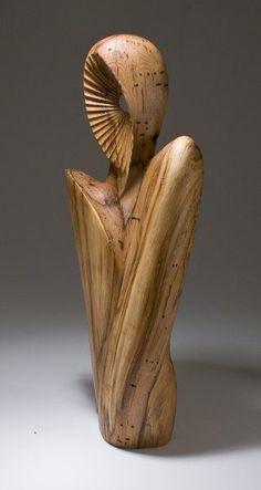 Collectors of Wood Art - Artist Portfolio Keith Holt Art Sculpture En Bois, Modern Sculpture, Abstract Sculpture, Wood Carving Art, Carving Designs, Art Carved, Artist Portfolio, Wood Creations, Wooden Art