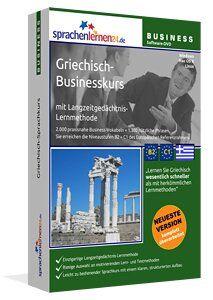 Business-Griechisch Sprachkurs - Sprachelernen24 Drei komplette Business-Griechisch Sprachkurs mit den Schwerpunkten berufliches Grundwissen, Bewerben & Arbeiten in Griechenland sowie Kommunikation....  Sprachelernen24