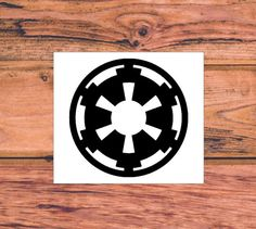 Star Wars Decal  Star Wars Silhouette Decal  Star Wars by Carcals
