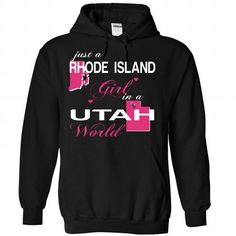 V1-RHODEISLAND-UTAH GIRL - #tee aufbewahrung #tshirt bemalen. BUY TODAY AND SAVE => https://www.sunfrog.com/Valentines/V1-2DRHODEISLAND-2DUTAH-GIRL-Black-Hoodie.html?68278