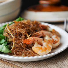 Shrimp Noodle Clay Pot