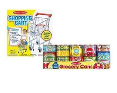 "Maven Gifts: Melissa and Doug ""Let's Play House!"" Bundle - Cardboard Grocery ..."