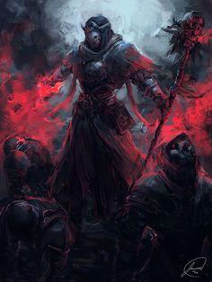Image result for dark hooded fantasy wizard