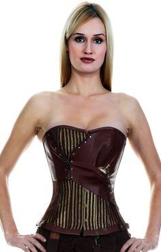 Steampunk Overbust corset