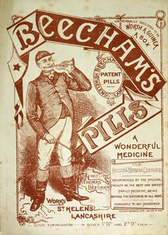 Advertisement for Beecham's Pills, 1850-1