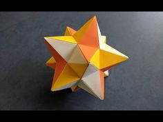 Origami, Paper Crafts, Creative, Balls, Youtube, Paper Folding, Art, Stuff Stuff, Crafting