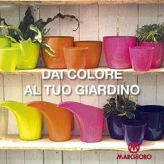 Dai #colore al tuo #giardino con i nostri #vasi!