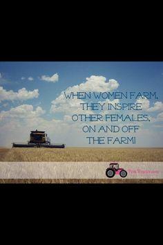 Women Farm too!