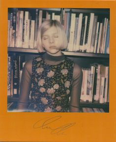 Fast rising Bergen singer-songwriter Aurora captured on Impossible Polaroids at this year's Iceland Airwaves.