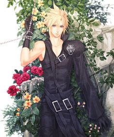 Garden of Memories by Yui…- Final Fantasy VII - Cloud Strife -  http://www.pixiv.net/member.php?id=597298
