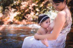 #nursing #breastfeeding #bonding #natural #creek #river #mommy #daughter #breast #nature Nursing Photography, Girls Dresses, Flower Girl Dresses, Breastfeeding, Daughter, River, Wedding Dresses, Natural, Beautiful