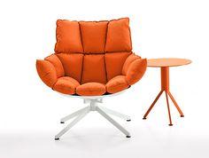 Sedie arancioni ~ Karina sedie moderne sala attesa idfdesign