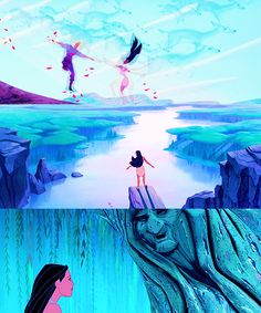 Life is magical☆✧ Princess Pocahontas, Disney Pocahontas, Disney Nerd, Disney Couples, Disney Disney, Disney Princesses, Disney Stuff, Disney Love, Disney Magic
