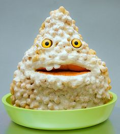 crazy food -patrick made out of food