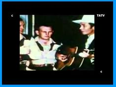 Hank Williams - When God Comes and Gathers His Jewels - with The Driftin...
