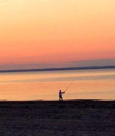 Lone fisherman.