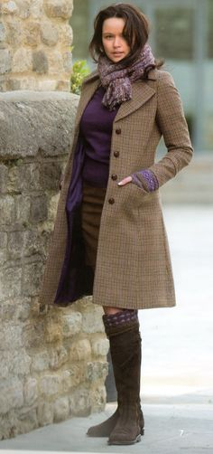 Love the purple and browns