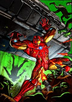 Iron Man by Simon Bisley