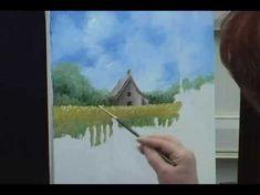How to Paint A Landscape: Acrylic Painting Technique: Online Art Class